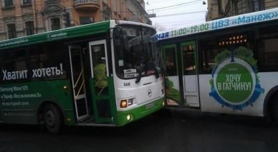 ДТП автобусов